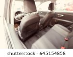 the interior of a new car  note ... | Shutterstock . vector #645154858