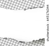 torn paper with ripped edges on ...   Shutterstock .eps vector #645176344