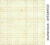 polka gold dot pattern vector.... | Shutterstock .eps vector #645184510