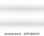 abstract halftone dotted... | Shutterstock .eps vector #645186424