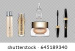 digital vector eye care cream ... | Shutterstock .eps vector #645189340