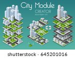 City Module Creator Isometric...