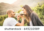 happy young couple of lover...   Shutterstock . vector #645210589