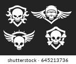 Motorbike Riders Skull Signs....
