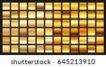 digital design golden gradient...   Shutterstock .eps vector #645213910