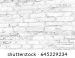 brick wall texture and... | Shutterstock . vector #645229234