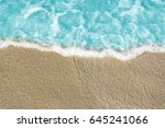 sea water texture background.... | Shutterstock . vector #645241066