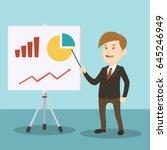 business illustration... | Shutterstock .eps vector #645246949