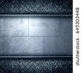 steel metal plate background | Shutterstock . vector #645303448