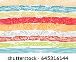 creative abstract textured... | Shutterstock .eps vector #645316144