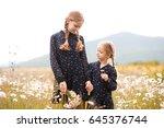 smiling teen girl 12 14 year...   Shutterstock . vector #645376744
