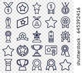best icons set. set of 25 best...   Shutterstock .eps vector #645392416