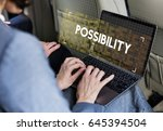 time unlimited infinity ability ... | Shutterstock . vector #645394504