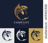 fish thai style logo vector   Shutterstock .eps vector #645401500