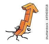 business growing statistics | Shutterstock .eps vector #645403018