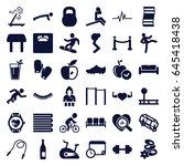 Lifestyle Icons Set. Set Of 36...