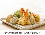 tempura  homemade | Shutterstock . vector #645418474