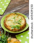 Squash Casserole Decorated By...