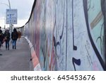 Berlin Wall At East Side...