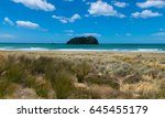new zealand tauranga pacific... | Shutterstock . vector #645455179