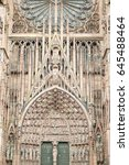 Small photo of Cathedral in Strasbourg, Alsace, France.