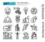 modern thin line design vector... | Shutterstock .eps vector #645496678
