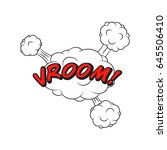 comics style speech bubble... | Shutterstock .eps vector #645506410