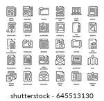 vector set of files and...