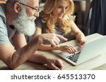 casual middle aged couple... | Shutterstock . vector #645513370
