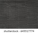 dark tile texture brick wall... | Shutterstock . vector #645517774