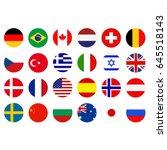 vector illustration of world...   Shutterstock .eps vector #645518143