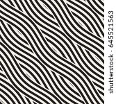 abstract geometric pattern with ... | Shutterstock .eps vector #645521563