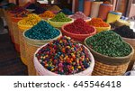 spice shop on the jemaa el fna...
