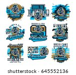 collection of vector...   Shutterstock .eps vector #645552136
