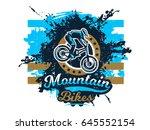 vector illustration on the... | Shutterstock .eps vector #645552154