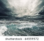 Small photo of Ocean storm