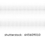 abstract halftone dotted... | Shutterstock .eps vector #645609010