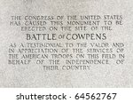 Cowpens National Battlefield Monument