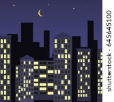Night City Illustration Of...