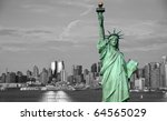 photo new york city skyline... | Shutterstock . vector #64565029