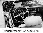 Luxury Car Interior. Beautiful...