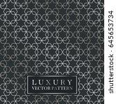 luxury seamless ornate pattern  ...   Shutterstock .eps vector #645653734