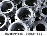 industrial background from... | Shutterstock . vector #645654568
