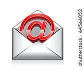 e mail vector icon | Shutterstock .eps vector #64566052