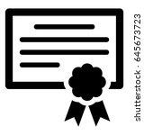 degree vector icon | Shutterstock .eps vector #645673723