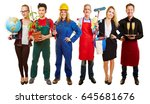 group with different... | Shutterstock . vector #645681676