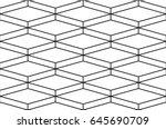 seamless vector pattern ... | Shutterstock .eps vector #645690709