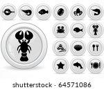 web buttons   Shutterstock .eps vector #64571086