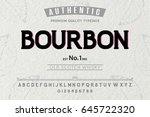 font.alphabet.script.typeface... | Shutterstock .eps vector #645722320