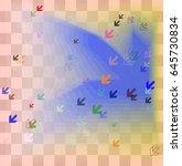 arrow pattern icon | Shutterstock .eps vector #645730834